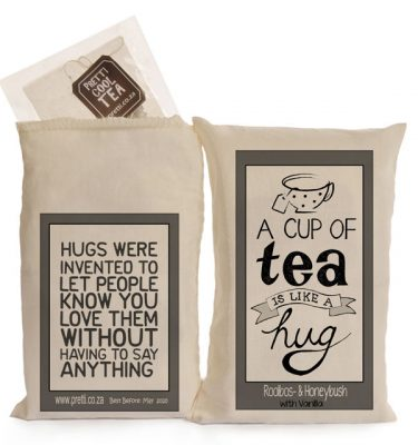 tea is like a hug