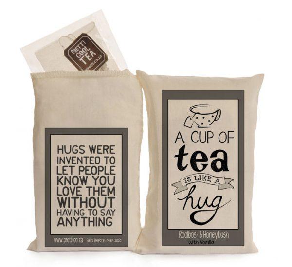 tea is like a hug