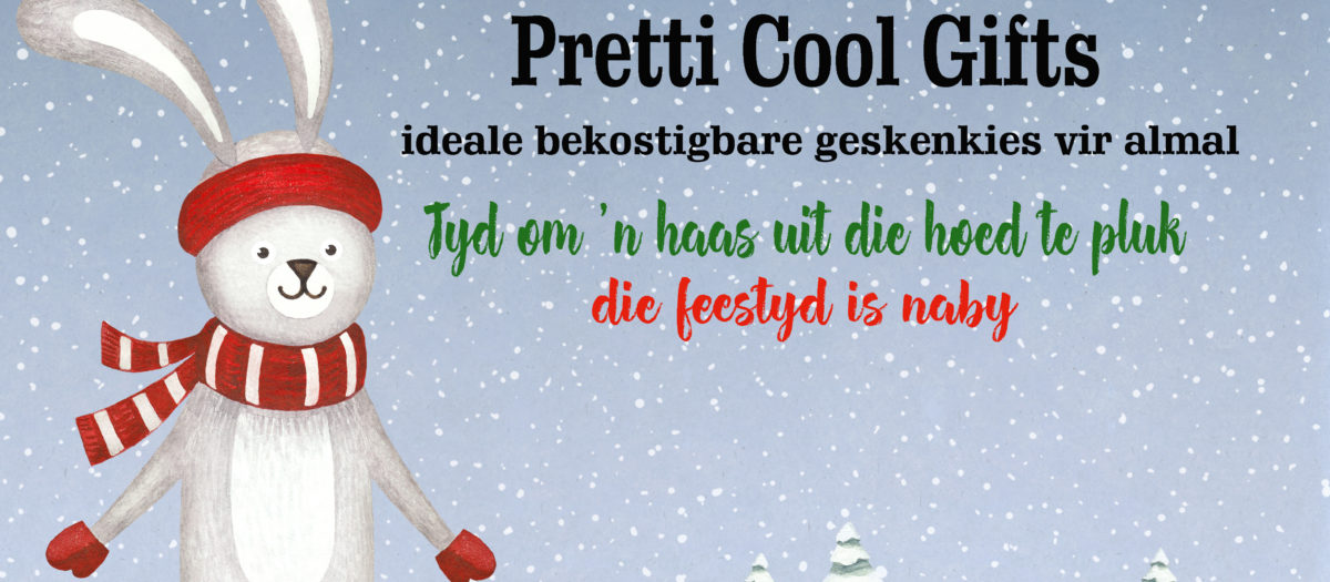 Stock up on Pretti Cool gifts for the festive season
