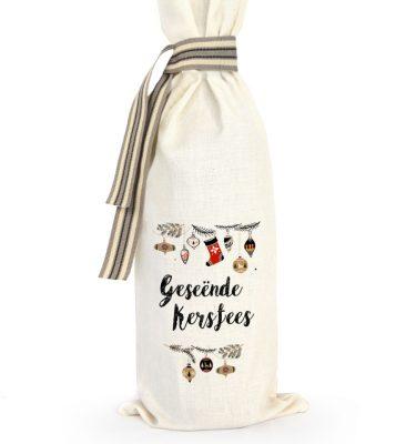 WINE BAG WS01 Geseende Kersfees Wyn