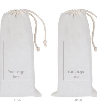 CUSTOM DESIGN: CD11 Large Drawstring Bag