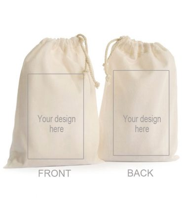 CUSTOM DESIGN: CD07 Medium Drawstring Bag