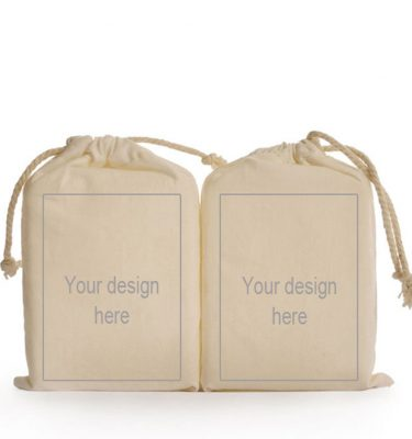 CUSTOM DESIGN: CD09 Small Drawstring Bag