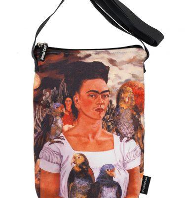 sling bag: frida kahlo; bag; fashion; accessories