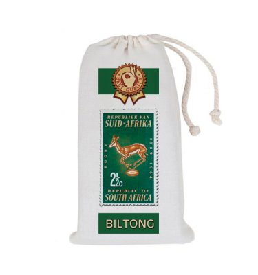 BILTONG BAG: BB06 Springbok Stamp