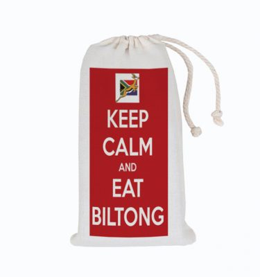 BILTONG BAGS: BB07 Keep Calm and eat Biltong