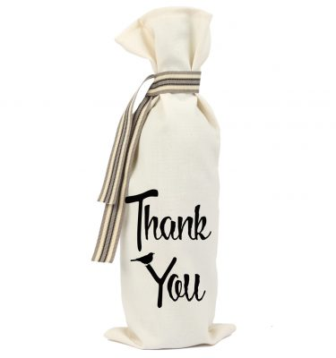 WINE BAG: WB12  Thank You