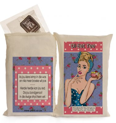 Tea gift bag: Di-eet-Tee