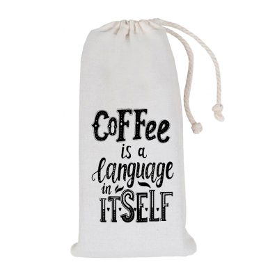 COFFEE BAG: CB03 Language