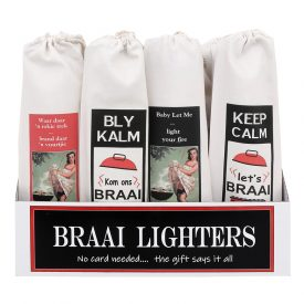Braai Lighter Display Box