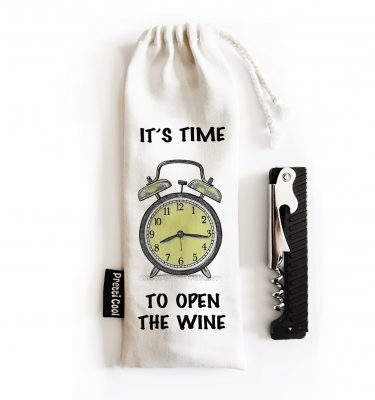 bottle opener gift bag made with cotton