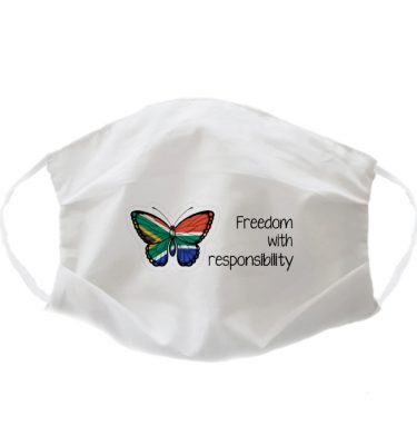 FACE MASK: FM07 Freedom with responsibility