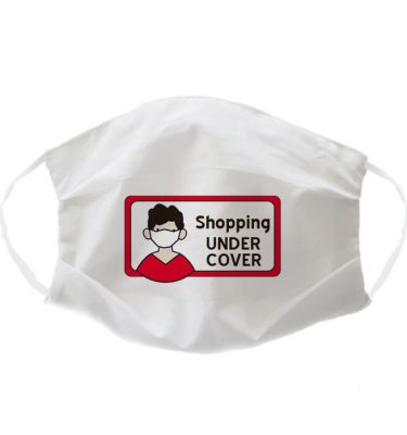 FACE MASK: FM010 Shopping under cover