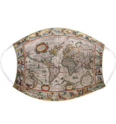 FACE MASKS: FMS01 WORLD MAP