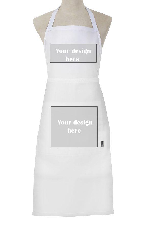 Custom Apron White Full