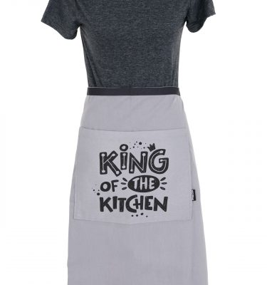 Aprons: AMH04 - King Of The Kitchen Half