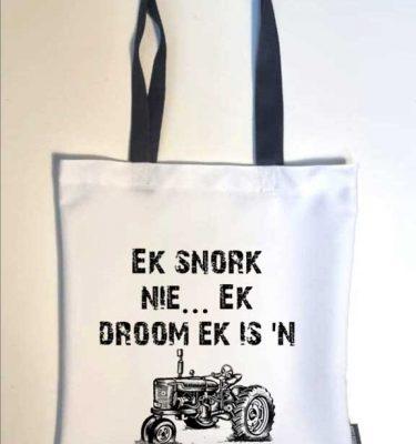 TOTE BAGS: TB08 Ek Snork Nie