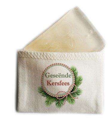MINI SOAP: CMS04 Geseënde Kersfees - Strikkie