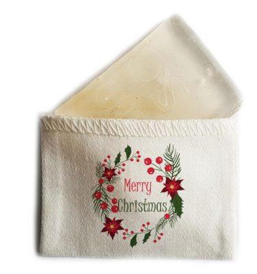 MINI SOAP: CMS05 Merry Christmas - Wreath